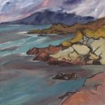 Acarseid Westerly Gale: oil on linen