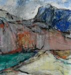 Over Luskentyre: mixed media