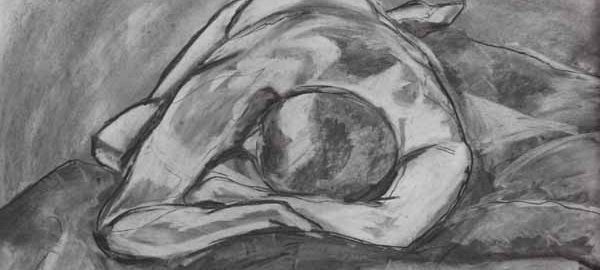 Life drawing workshop - July 2017 - Jane Veitch Artist